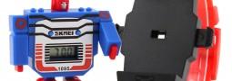 Reloj robot, reloj Transformers, vintaje. Pikachu y más