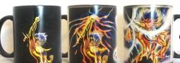 Tazón mágico, Saint Seiya, Death Mask de Cancer, Caballeros del Zodiaco