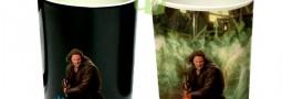 Tazón mágico Señor de los Anillos, tazón Aragorn, taza LOTR