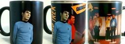 Tazón Star Trek, taza Spock, cambia con agua caliente