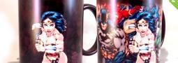 Tazón mágico Mujer Maravilla, taza Wonder Woman
