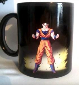 Tazón mágico Goku Super Sayajin