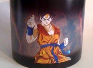 Tazón mágico Goku Dios